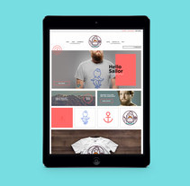 Hello Sailor. A Design, Illustration, Accessor, Design, Br, ing, Identit, Fashion, and Web Development project by The Woork Co  - May 13 2014 12:00 AM