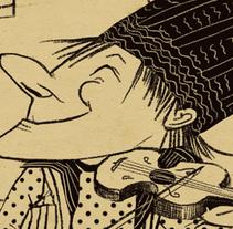 Serias ocupaciones. A Illustration project by Natalia Jankowski - 05.13.2014