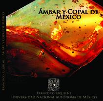 Libro Ámbar y copal de México. Um projeto de Design editorial de Ana Veneno          - 30.09.2013
