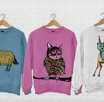 Animales contrarios. A Illustration project by lorena maeso garcia         - 03.12.2013
