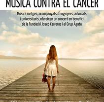 Música contra el cáncer - Teatre del Liceu. Un proyecto de Diseño gráfico de Jose Fernando López Viciana         - 14.11.2013