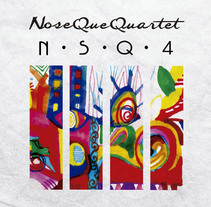 NSQ4 Banda Jazz Sureño. Um projeto de Br, ing e Identidade e Artes plásticas de Marta Zubieta         - 24.05.2014