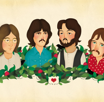 The Beatles. A Illustration project by María  Díaz Perera         - 26.07.2013