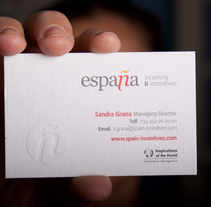 ESPAÑA Incoming & Incentives. Rediseño de Marca.. A Br, ing&Identit project by Plan D Creativos  - 17-02-2011