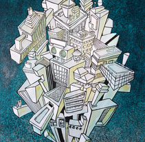C I T Y. A Illustration project by Patricia Iglesias Carriches - Jul 01 2014 12:00 AM