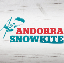Andorra Snowkite. Imágen Gráfica de Evento Deportivo. Um projeto de Ilustração, Eventos e Design gráfico de Carlos Cañellas - 07-03-2012