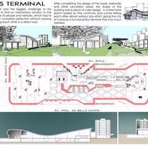 Bus Station-Architecture. Um projeto de Design, Arquitetura e Arquitetura de interiores de Desiree Diaz Carrascoso         - 31.05.2014