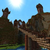 ABISMO   Serie de fantasía medieval creada con Minecraft. Un proyecto de Animación de Fermi Vidal Soler         - 08.06.2014