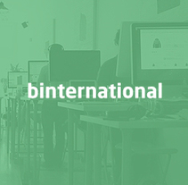 Binternational. Un proyecto de UI / UX, Diseño gráfico, Diseño Web y Desarrollo Web de Clever Consulting  - 17-07-2014