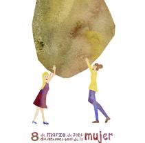 moviendo montañas. A Illustration project by violeta de nicolas         - 15.06.2014