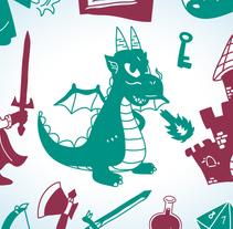Sets de ilustraciones temáticas en un color. Um projeto de Ilustração, Design de personagens e Design gráfico de David Figuer - 15-06-2014