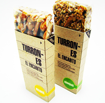 Turrones El Encanto. A Graphic Design, and Packaging project by Gabriel Granda         - 17.06.2014