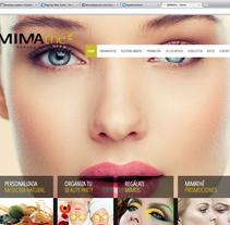 Diseño Web Mimathé. A Web Design project by Macarena del Rocío Zabala - 31-03-2014