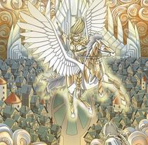 Sigfrido y los Nibelungos. Un proyecto de Ilustración y Diseño de personajes de Fernando Cano Zapata         - 14.05.2015