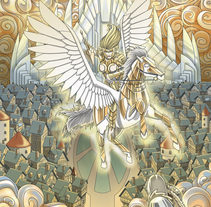 Sigfrido y los Nibelungos. A Illustration, and Character Design project by Fernando Cano Zapata         - 14.05.2015