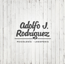 Adolfo J. Rodríguez. A Br, ing, Identit, Graphic Design, T, and pograph project by Printing Studio         - 02.07.2014