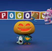 Pocoyo Halloween (Making off). Un proyecto de 3D, Animación y Diseño de personajes de Rubén García         - 02.07.2014