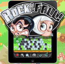 Rock & Fall!. Un proyecto de Ilustración, Diseño de personajes y Diseño de juegos de Jorge de Juan - 07-06-2014