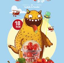Cherrytos and Go. Un proyecto de Ilustración, Br, ing e Identidad y Packaging de Óscar Lloréns - Martes, 08 de julio de 2014 00:00:00 +0200