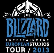 Camiseta para el Tour europeo de Blizzard. A Illustration, and Screen-printing project by Maialen Echaniz Olaizola - Oct 01 2013 12:00 AM
