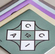 CCAI - Centro de Cultura Antiguo Instituto de Gijón. Un proyecto de Diseño editorial, Eventos y Diseño gráfico de Rubén Montero         - 27.01.2015