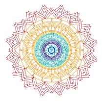 Ilustración Mandala. Um projeto de Design e Ilustração de Laura Sala         - 27.07.2014