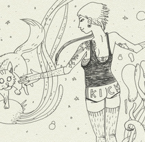 Nuevo proyecto. A Illustration project by Ertito Montana         - 28.07.2014