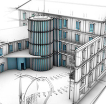 Arquitectura 3D. A 3D, and Architecture project by Carlos Hernández Gironés         - 28.07.2014
