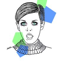 Ilustración. Twiggy.. A Design&Illustration project by Vanessa Delfer         - 03.08.2014