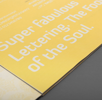 Umbruch – revista sobre la tipografía. A Design, Br, ing, Identit, Editorial Design, Graphic Design, T, and pograph project by Katrin Horstkemper         - 07.03.2009
