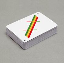Baraja de cartas minimalista. Un proyecto de Diseño, Dirección de arte y Diseño de juegos de Rubén Montero - 12-08-2014