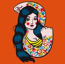 """Serie """"Carnival"""". Un proyecto de Diseño de personajes, Diseño gráfico e Ilustración de El niño Vudu  - Martes, 19 de agosto de 2014 00:00:00 +0200"""