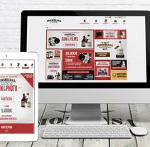 Web Concurso Mombasa Gin. A UI / UX, Web Design, and Web Development project by Mokaps          - 26.02.2014