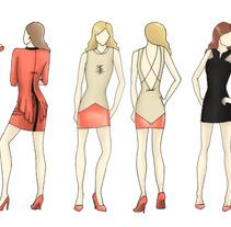 Colección P/V - 2013. Um projeto de Design, Ilustração e Moda de Gloria Rivera         - 13.02.2013