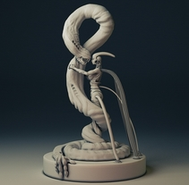 The BioBeauty and The Beast. A 3D project by Ruben Roldan Crespo         - 29.08.2014