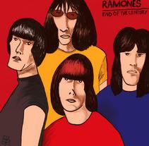 Portadas de discos. Un proyecto de Ilustración de Lluis Ràfols - Martes, 02 de septiembre de 2014 00:00:00 +0200