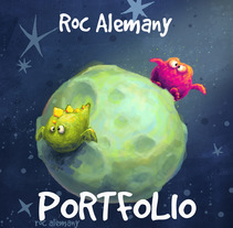 Portfolio. Um projeto de Ilustração de Roc Alemany         - 07.09.2014