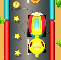 i-wow Beep beep Imaginarium Interface design. Un proyecto de 3D, Animación, Br, ing e Identidad, Dirección de arte, Diseño, Diseño de juegos, Diseño de personajes, Diseño de producto, Diseño interactivo, Ilustración, Multimedia y UI / UX de Melo  - Martes, 09 de septiembre de 2014 00:00:00 +0200