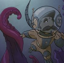 Ilustraciones. Un proyecto de Ilustración y Diseño de personajes de Antonio Silvestre - 11-09-2014