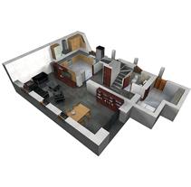 2006|2008 Interiorismo . Un proyecto de 3D, Arquitectura, Arquitectura interior y Diseño de interiores de Daniel Blanco Puig         - 12.09.2008