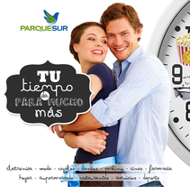 Parquesur y Centros Comerciales. A Graphic Design project by Neil Becerra         - 31.01.2014