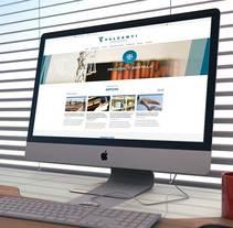 VALCAMTI Abogados. Um projeto de Design gráfico e Web design de César Encinas García - 04-09-2014