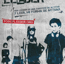 Campaña de Fomento de Lectura. A Web Design project by José Ignacio Sanz Cámara - Sep 26 2014 12:00 AM