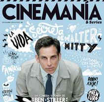 CINEMANÍA . Un proyecto de Ilustración, Cine, vídeo, televisión y Diseño editorial de Del Hambre  - 28-09-2014