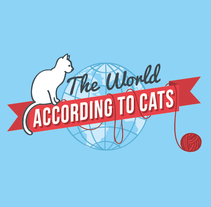 Infografía: The World According to Cats. Um projeto de Ilustração e Design gráfico de Eloísa Bielsa Gutiérrez         - 30.04.2014