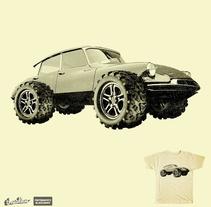 Retro Monster Truck. Un proyecto de Diseño de Alejandro  - Martes, 07 de octubre de 2014 00:00:00 +0200