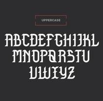 Mi Proyecto del curso Tipos con Clase. Um projeto de Design e Tipografia de Andrea Arqués         - 07.10.2014