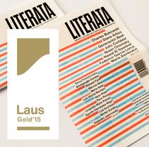 Literata. Un proyecto de Br, ing e Identidad, Diseño editorial y Diseño gráfico de Buenaventura  - 16-10-2014