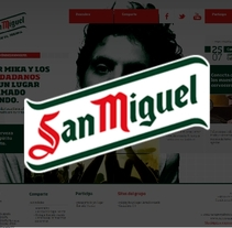 San Miguel. A Design, Art Direction, Design Management, Graphic Design, Product Design, and Web Design project by Staring Girl         - 18.10.2014