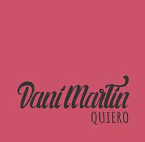 Mi Proyecto de caligrafía: Dani Martín. Un proyecto de Diseño gráfico y Tipografía de Sergio Puente Aragoneses         - 19.10.2014
